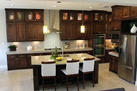 dark stained kitchen cabinets. Dark Walnut Stained Kitchen Cabinets Unique On Within . K