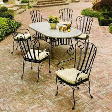 outdoor wrought iron furniture. Outdoor Furniture Ideas Patio Wrought Iron Dining Sets