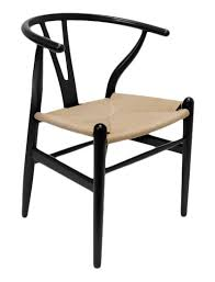 chair dining. marcano wishbone solid wood dining chair (set of 2)