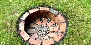 12 amazing making brick fire pit