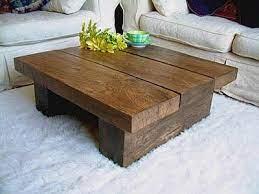 wood coffee table rustic coffee table