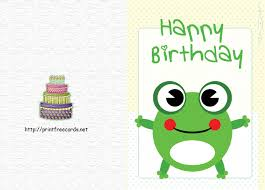 Birthday Printable Cards Printable Birthday Cards