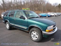 1998 Chevrolet Blazer LS 4x4 in Dark Green Metallic - 100702 ...