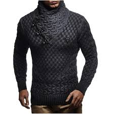 <b>ZOGAA</b> Brand Geek New Men's <b>Sweaters</b> Fashion Design Solid ...