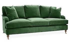 seat sofa emerald velvet sofas