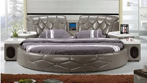 ... bed frame unreal kingsize leather round table