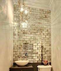 mercury glass mirror. Mercury Glass Mirror Small Baths With Big Impact Tiles Mirrored Nightstand . C