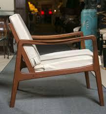 mid century modern ole wanscher mid century teak lounge chair by john stuart sleek