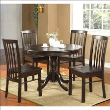 4 seater round table dining set