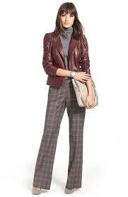 welcome fall with this sleek jacket wear to work leather jacket