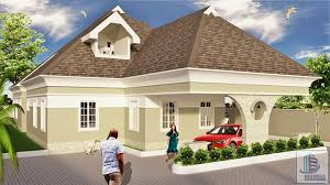 4 bedroom bungalow with pent house
