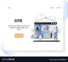 Design Site Internet Web Developer Website Landing Page Design