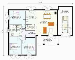plan maison plain pied 3 chambres avec suite paale plan maison plain pied 3 chambres avec