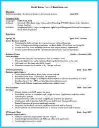 Resume For Analyst Job Best Secrets About Creating Effective Business Systems Analyst Resume 51