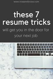 pad your resume fix your resume in under an hour with these quick tricks  tips and .