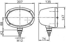 standard utility trailer wiring diagram images wells cargo fun trailer wiring diagram hella oval 120 external headlamp w city lamp dot ece hl95330
