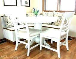 kitchen nook table breakfast banquette seating medium size of corner set cushions