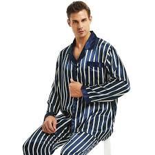 Mens Designer Pyjamas Mens Silk Satin Pajamas Set Pyjamas Set Pjs Sleepwear