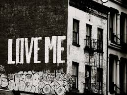 black and white wall art nyc graffiti love me road wonderful amazing building contemporary modern painting