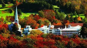 Equinox main hotel deluxe Orvis Inn Exterior Fall Foliage Agoda The Equinox Resort Spa Manchester Vermont