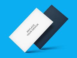 Floating Business Cards Mockup Mockup Love