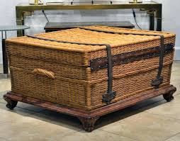 storage trunk coffee table interior leather trunk leather travel trunk coffee table storage chest vintage storage