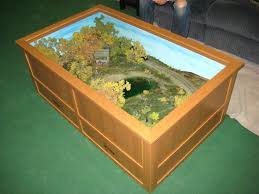 coffee table model railroad coffee table train layout n scale model railroad layouts coffee table model