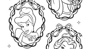Princess Belle Coloring Pages Printable Peach Sofia Free Princesses