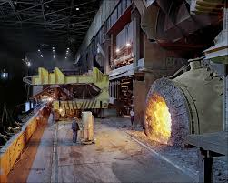 gary works steel mill burns harbor steel mill