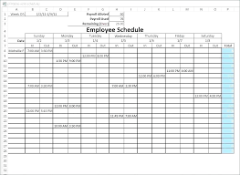 Schedule Forms Printable Blank Monthly Work Schedule Template Monthly Work Schedule