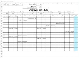 Work Schedule Calendar Template Blank Monthly Work Schedule Template Monthly Work Schedule
