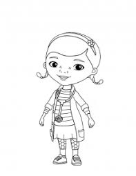 Doc Mcstuffins Free Printable Coloring Pages For Kids