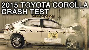 2015/2016 Toyota Corolla Frontal Crash Test - YouTube