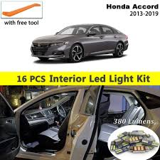 2015 Honda Civic Led Interior Lights 4 Pcs Led Lights For 2013 2014 2015 Honda Civic Kit Interior
