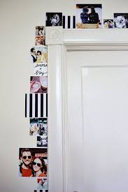 decorate college apartment. Dress Up Your Boring Door Frame\u0026nbsp;with A Photo Border That Lets You ~express Decorate College Apartment