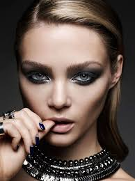 love the dark makeup image and accessories