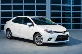 toyota corolla 2015 white. Interesting White 2015 Toyota Corolla LE ECO Front Three Quarter 02 On White Motor Trend