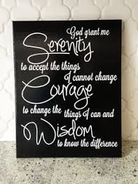 8x10 11x14 12x12 serenity prayer vinyl canvas by kraftsbykatiehill on large serenity prayer wall art with hand painted serenity prayer wall mural on wood panel by bonnielecat