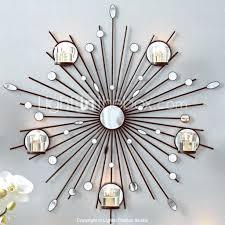 chandeliers metal chandelier wall art metal wall art wall decorthe sun mirror candlestick wall decor