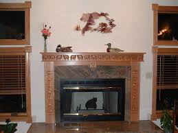 heavenly image of home interior decoration with various wrap around fireplace mantel engaging image of