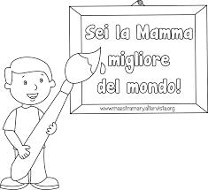 Disegni Da Colorare E Stampare Festa Della Mamma Fredrotgans