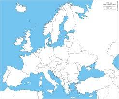 Europe Carte G Ographique Gratuite Carte G Ographique Muette