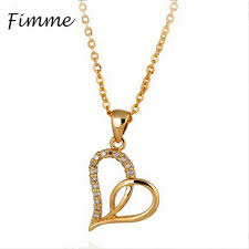 2019 irregular heart shape pendant necklaces for woman 2018 new design simulation gold jewellery for girls party accessories on from ogstuff
