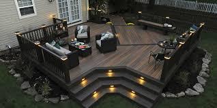 composite deck ideas. Dark Composite Deck Ideas O