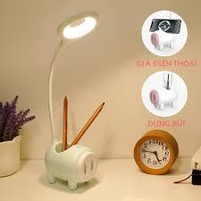 Đèn học để bàn chống cận đèn led sạc tích điện đọc sách Kami36011.36018