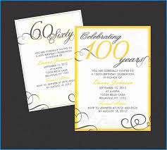 60th Birthday Party Invitation Templates Free Download Great 60th