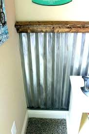 corrugated metal bathroom design corrugated metal panels for interior walls corrugated metal bathroom metal wall covering ideas corrugated metal as