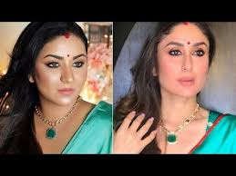 indian wedding guest party makeup