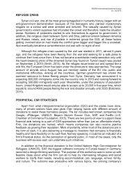 csr discussion on syrian refugee 4 ib93pb international business essay