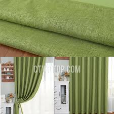 decorative living room bright green blackout curtains